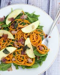 Noodle Salad Recipes Sweet Potato Noodle Salad With Brown Butter Dressing By The