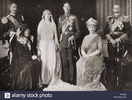 the british royal family at the wedding of the duke and duchess of