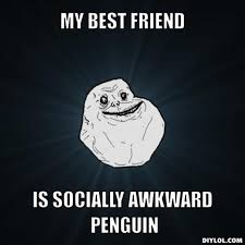 Socially Awkward Penguin Meme Generator - awkward penguin meme template