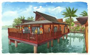 Polynesian Home Decor by Disney U0027s Polynesian Villas U0026 Bungalows Are Now On Sale