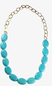turquoise gold chain necklace images Turquoise stone necklaces marie bruns jpg