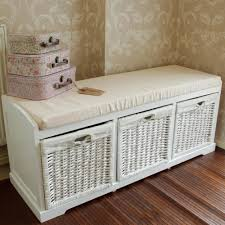 White Wicker Glider Loveseat white wicker storage bench all about image on stunning wicker