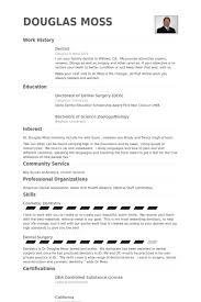 Resume Templates For Dental Assistant Pediatric Dentist Resume Samples Samuel Desntist Resume Job