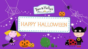 ben and holly u0027s little kingdom spooky halloween new