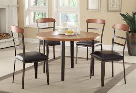 White Round Kitchen Table by Chairs Brown Round Kitchen Captivating Ikea Dining Room Sets