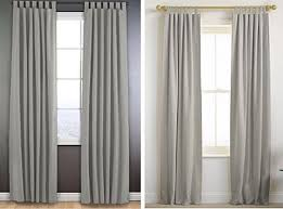 Hotel Drapery Rods Gold Curtain Rod And Gray Curtains On The Right Dining Room