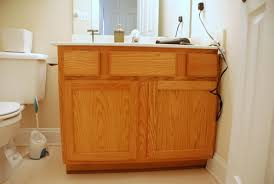 Painting Bathroom Vanity by Lively Green Door Tear Down Rebuild Adding Legs To The
