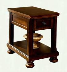ashley furniture side tables ashley furniture porter brown chair side table the classy home