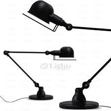 Desk Lights Mechanical Arm Black Industrial Best Desk Lamps