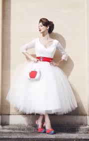 top 45 tea length wedding dress with color on pinterest