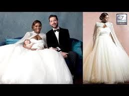 mcqueen wedding dresses serena williams looks like a in mcqueen