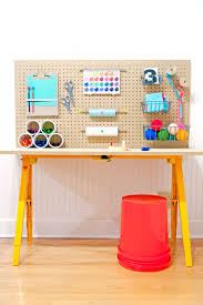 Diy Kid Desk Store All Of Your Kid S Crafts For 50 Handmade