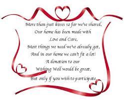 wedding fund websites 5 x wedding poem cards for invitations money gift honeymoon