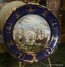 spode maritime spode the maritime plates no 3 the four days battle june
