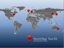 free world maps animated world map toolkit for powerpoint