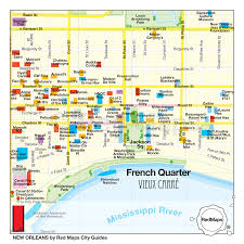 New Orleans Maps by New Orleans City Guide By Red Maps