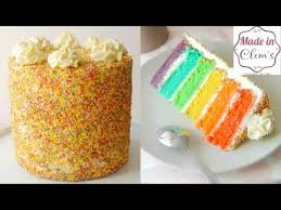 rainbow cake hervé cuisine rainbow cake layer cake made in clem s