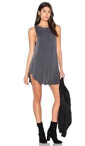 black jersey dress revolve
