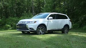 2016 mitsubishi outlander review consumer reports