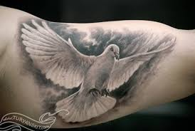 dove tattoos for men ideas and inspirations for guys