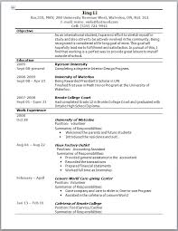 First Year College Student Resume Resume Examples Templates Example Of College Student Resumes