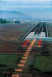 model airport runway lights runway marking and lighting