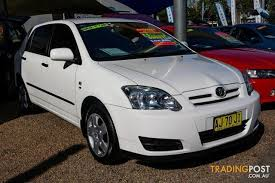 toyota corolla for sale nsw 2006 toyota corolla ascent zze122r 5y hatchback for sale in