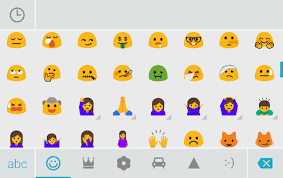 emojis android swiftkey beta returns phone number and email predictions adds