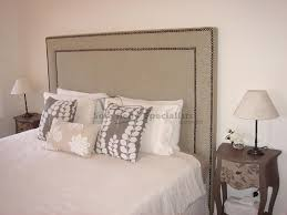 upholstered bed head studded sofa bed specialists