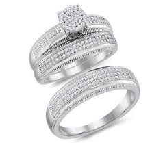 Womens Wedding Ring Sets by Woman And Man Wedding Ring Sets Man And Woman Wedding Ring Sets