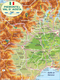 Turin Italy Map by Map Of Piedmont Italy Map In The Atlas Of The World World Atlas