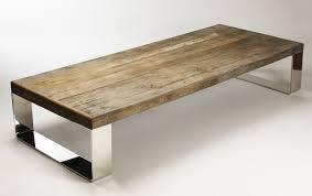 Steel Coffee Table Reclaimed Wood Round Coffee Table Round Coffee Table Metal And