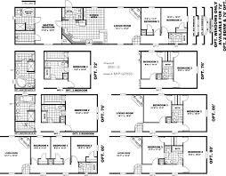 Single Wide Mobile Home Floor Plans 2 Bedroom 216 Best Home Design Single Wide Images On Pinterest Mobile
