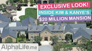 inside kim kardashian u0026 kanye west u0027s new 2017 hidden hills