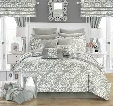 Overstock Com Bedding Amazon Com Chic Home Hailee 24 Piece Comforter Set Complete Bed