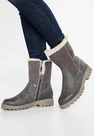 s winter boot sale s oliver winter boots graphite sale shoes grey