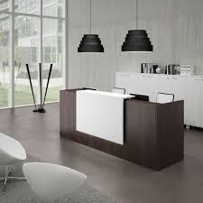 Modular Reception Desks Empfangstheke Manager Wenge Mit Weiß Abgesetzt Praxis