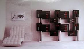 bottle display rack wooden residential esigo 5 floor design