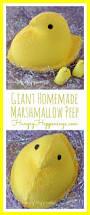 thanksgiving peeps giant homemade marshmallow peep hungry happenings