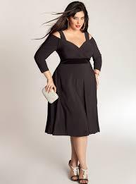 plus size little black dress coctail dresses