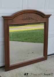 Bedroom Dresser Mirror Headboard Made From Dresser Mirror Hometalk