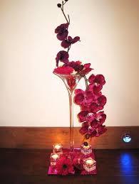 martini glass centerpiece destination wedding theme pinterest