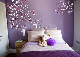 Purple Wall Decals For Nursery Nursery Wall Decal Vinyl Decal Cherry Blossom By Chinstudio