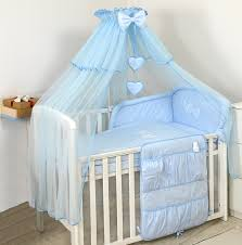 Bedding Sets For Nursery by Luxury Baby Cot Bed Cotton Sateen Bedding Set Canopy Drape