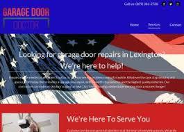 Overhead Door Lexington Ky by Garage Door Doctor In Lexington Ky 231 Pasadena Dr Lexington Ky