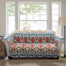 Rust Sofa Jaipur Ikat Furniture Protectors Turquoise Rust Walmart Com