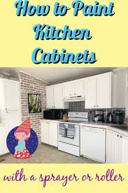 how to paint cabinets fast how to paint kitchen cabinets crafty gnome