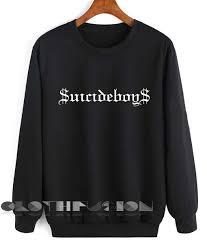 boys sweater crewneck boys logo sweater design clothfusion