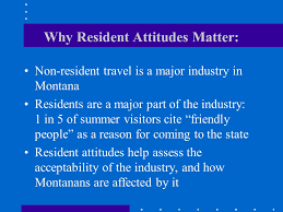 Montana Travel Industry images Residents define the role of tourism in montana resident attitudes jpg