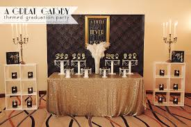 a great gatsby themed graduation party time2partay com